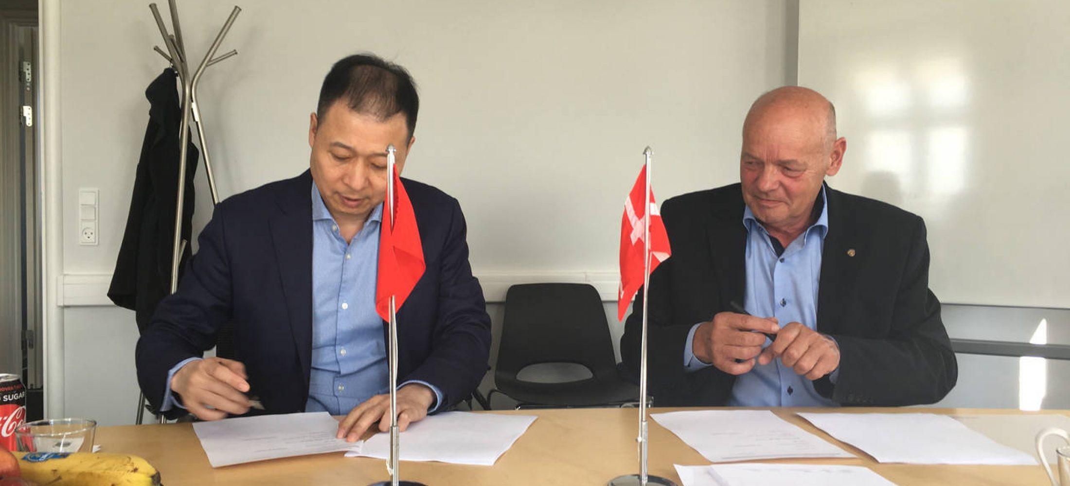 Det kinesisk ejede selskab Greatop er blevet partner i biogasselskabet Combigas på Ryttervangen.